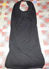 Vestito Nero Scoperto nella schiena con 3 catenelle taglia S
