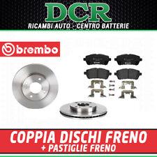 Kit Pastiglie Freno e Dischi Anteriori BREMBO FORD FIESTA VI 1.4 GPL 97CV 71KW