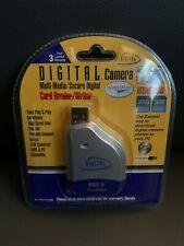 New Digital Concepts Camera Multi Media/Secure Digital Card Reader & Writer