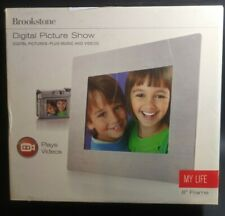 Brookstone 8 Inch Digital Picture Show