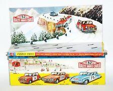 Reprobox Corgi Toys Giftset 38 - Rallye Monte Carlo mit Innendisplay
