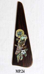 Antoniotsai -Parrot Inlaid Handmade Solid R0sewood Pickguard Mandolin Parts MP24