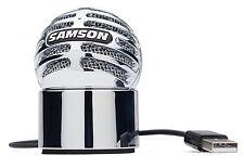 Samson Meteorite USB Condenser Podcast Skype YouTube Recording Microphone  NEW