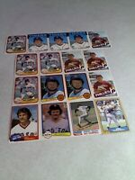 Bill Campbell: Lot of 115+ cards.....24 DIFFERENT / Baseball