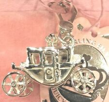 NWT 2007 JUICY COUTURE STERLING SILVER CARRIAGE CHARM EXTREMELY RARE!!!!