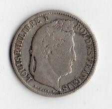 TOP RARE MONNAIE DE 50 CENT LOUIS PHILIPPE ARGENT 1847 A @ PARIS @ RARE TOP !!
