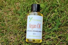 100 Pure Argan Oil Unrefined Extra Virgin From Organic Certified Supplier 30ml (bottle)