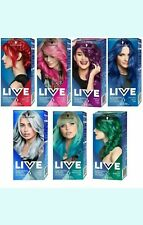 Schwarzkopf LIVE Ultra Brights or Pastel 2 in 1 Semi-Permanent Hair-Dyes