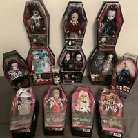 16 LIVING DEAD DOLLS COLLECTION MINT CONDITION RARE GOTHIC HORROR EVIL SET LOT