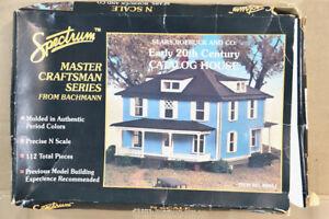 BACHMANN SPECTRUM 88051 N GAUGE EARLY 20th CENTUY CATALOG HOUSE MODEL KIT nz