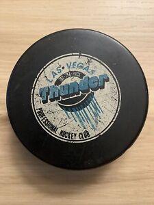 Las Vegas Thunder 1993-94 Omni-Sports IHL Hockey Puck International League