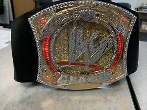 WWE World Wrestling Champ Spinner Title Belt Kida replica Lights Sound John Cena