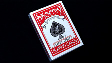 Phoenix Large Index Red Playing Cards Poker Size Deck USPCC Easy 2 See 4 Tricks