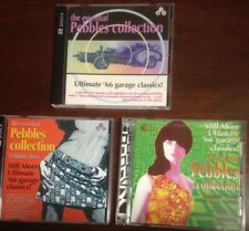 Volumes 1-3 of The Essential Pebbles Collection - VARIOUS ARTISTS - 6 CDs in All