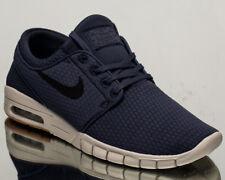 Nike SB Mens Stefan Janoski Max Knit Blue Shoes Blue/black 10
