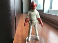 Admiral Ackbar Vintage Kenner Star Wars Action Figure Near Mint!  High Grade