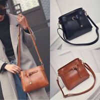 Ladies Leather Shoulder Bag Messenger Hobo Satchel Tote Purse Handbag NEW