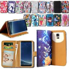 For Various Samsung Galaxy SmartPhones - Leather Smart Stand Wallet Cover Case