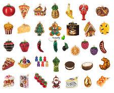Christbaumkugeln Figur Essen Weihnachtskugeln Weihnachts-Baumschmuck Deko Luxus