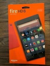 Amazon Kindle Fire Tablet 16gb, HD8 (8th Generation), Black