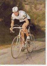 CYCLISME carte cycliste ALAIN  MEUNIER équipe PEUGEOT-BP signée