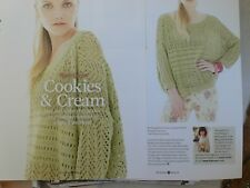 Lacy Loose Style Sweater Jumper Knitting Pattern