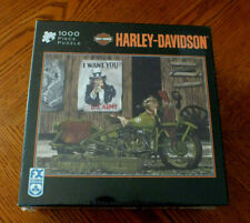 Harley Davidson Motorcycles 2007 Freedom Riders 1943 1000 Pieces USA  America