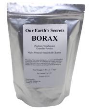 Our Earths Secrets - Borax Powder - Multi-Purpose Cleaner 5 Lb. Bag