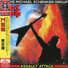 MSG - Michael Schenker Group - Assault Attack - Japan CD