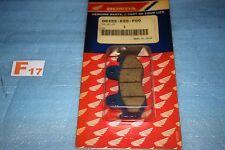 2 plaquettes de frein avant d'origine Honda MTX 80 125 RW XL 125 R 06455-KS5-P00