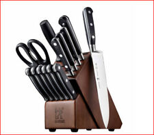 Zwilling JA Henckels FORGED COUTEAU Cutlery Block Knife Set GERMAN STEEL 14 pcs