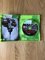 THE EVIL WITHIN (2014) XBOX 360 GAME - WITH MANUAL Very Good Condition Free P&P
