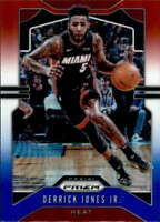 2019-20 Panini Prizm Prizms RW&B #150 Derrick Jones Jr. Miami Heat