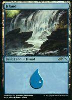 Island FOIL (Rebecca Guay Art) | NM | Standard Showdown Promo | Magic MTG