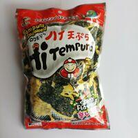 Thai Grilled Seaweed Crispy Snack Tao Kae Noi Tempura Spicy Flavor Camping