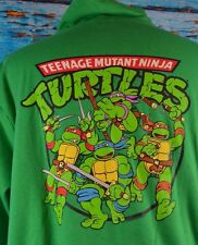 Teenage Mutant Ninja Turtles Full Zip Sweater Size Medium Cotton Blend Very Cool