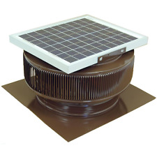 15-Watt 1007 CFM Solar Powered Attic Exhaust Fan Home Cooler Roof Ventilation