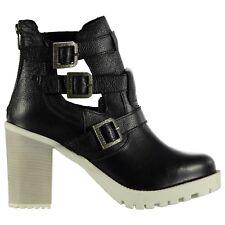 Ladies Firetrap Black BOOTS Size 5