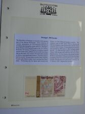 More details for portugal 500 escudo  uncirculated note banknotes of the world