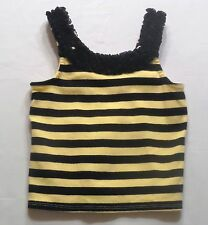 """Gymboree """"Bee Chic"""" Bumbble Bee Striped Ruffled Tank Top, 3T"""