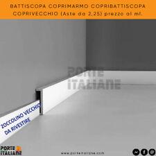 BATTISCOPA COPRIMARMO COPRIBATTISCOPA COPRIVECCHIO (Aste da 2,25) prezzo al ml.