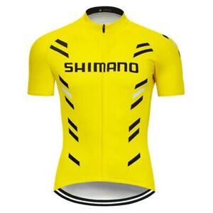 Mens Cycling Jersey Bicycle Racing Tops Shirt Short Sleeve Shirts Riding Uniform