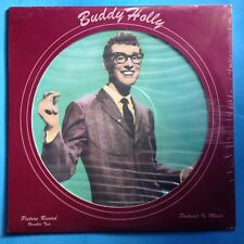 """Buddy Holly-Picture Record Number Two-12"""" PICTURE DISC-1979 Solid Smoke  SEALED"""