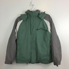 Quest Men's Snow Jacket Size Large Ski Coat Winter Warm Hooded Heavyweigh