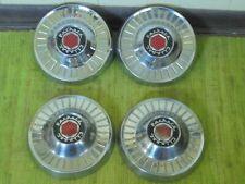 """55 56 Packard Clipper Dog Dish HUB CAPS 10"""" Set of 4 Hubcaps 1955 1956"""