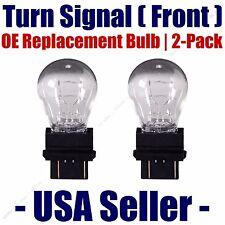 Front Turn Signal/Blinker Light Bulb 2pk- Fits Listed Oldsmobile Vehicles - 3357