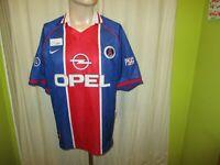 "Paris St.Germain Original Nike Heim Europa-Cup Winner Trikot 1996/97 ""OPEL"" Gr.L"