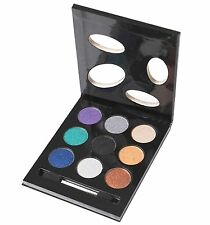Collection - Bedazzled Eye Shadow Palette - 9  Glitter Eye Shadows -