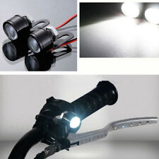 2X Set 12V Motorcycle White LED Spotlight Headlight Driving Light Fog Lamp Nice