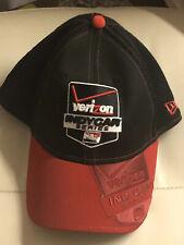 Verizon Race Indy Car Series Red Black Hat cap 39Thirtynine Medium-large NWT